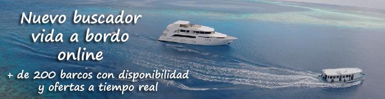 Nuevo buscador vida a bordo online. Más de 200 cruceros con disponibilidad y ofertas a tiempo real.